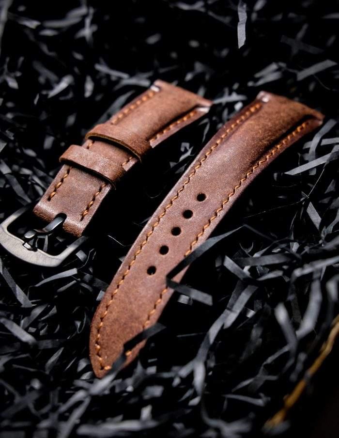 Ремешки для часов из кожи ручной работы