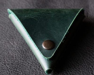 Монетница tri-Pocket — Зелёная