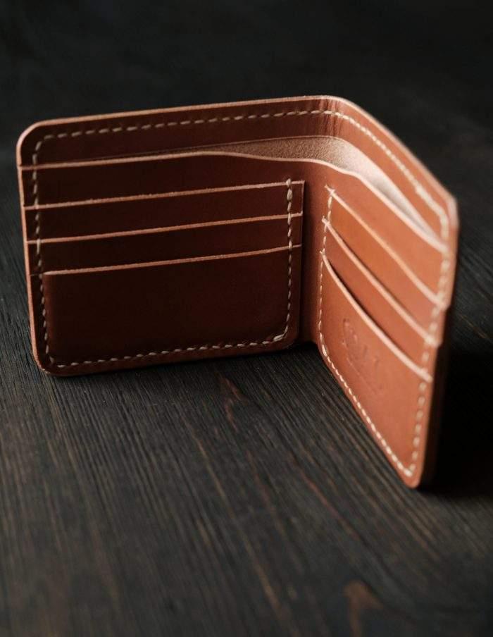 Кошельки и портмоне из кожи ручной работы